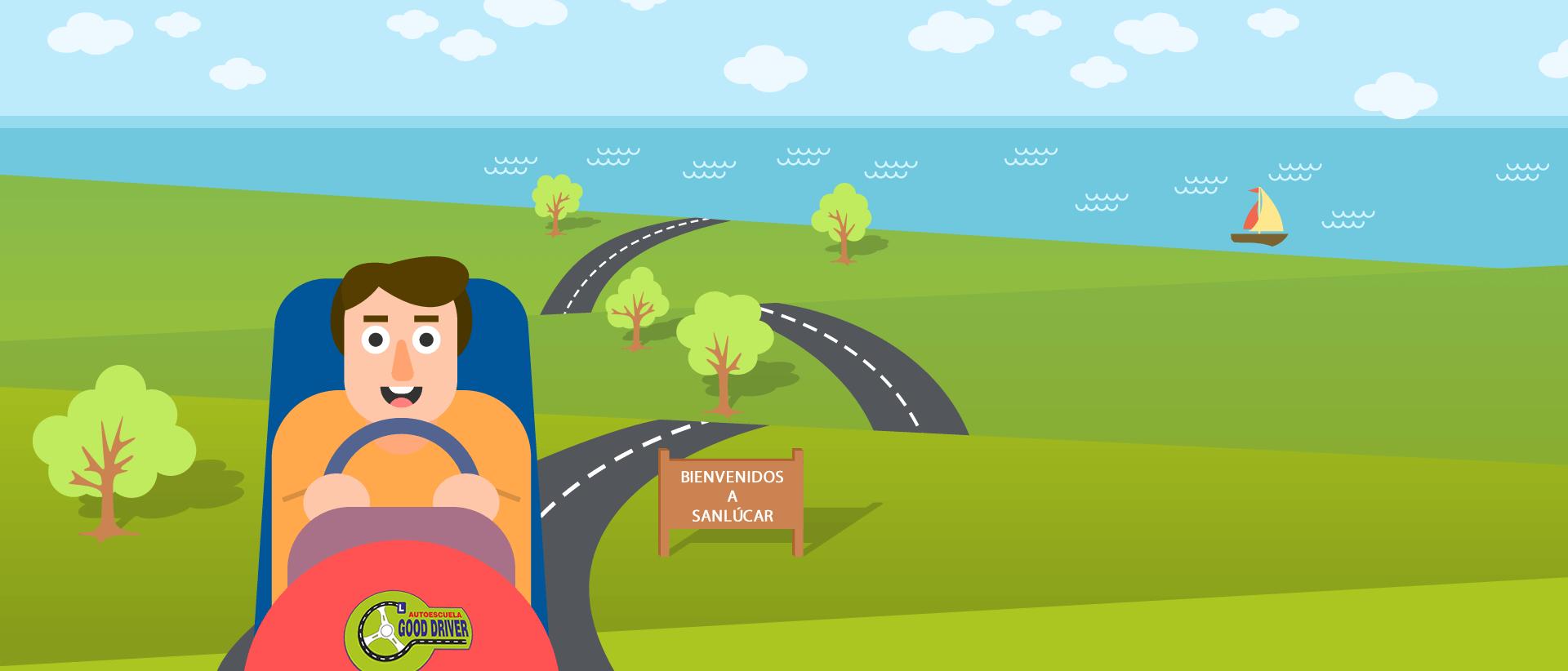 3 – carretera con conductor